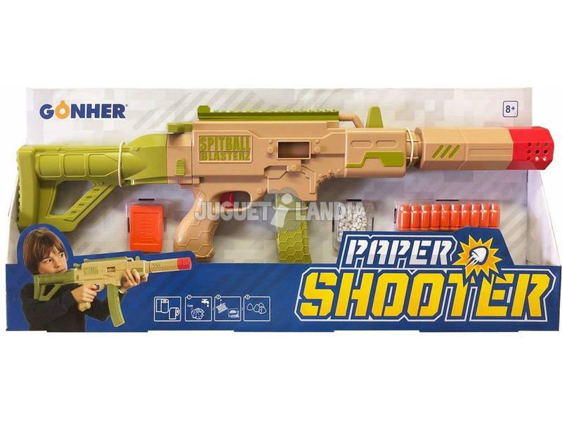 Paper Shooter Lanza Dardos de Papel 950
