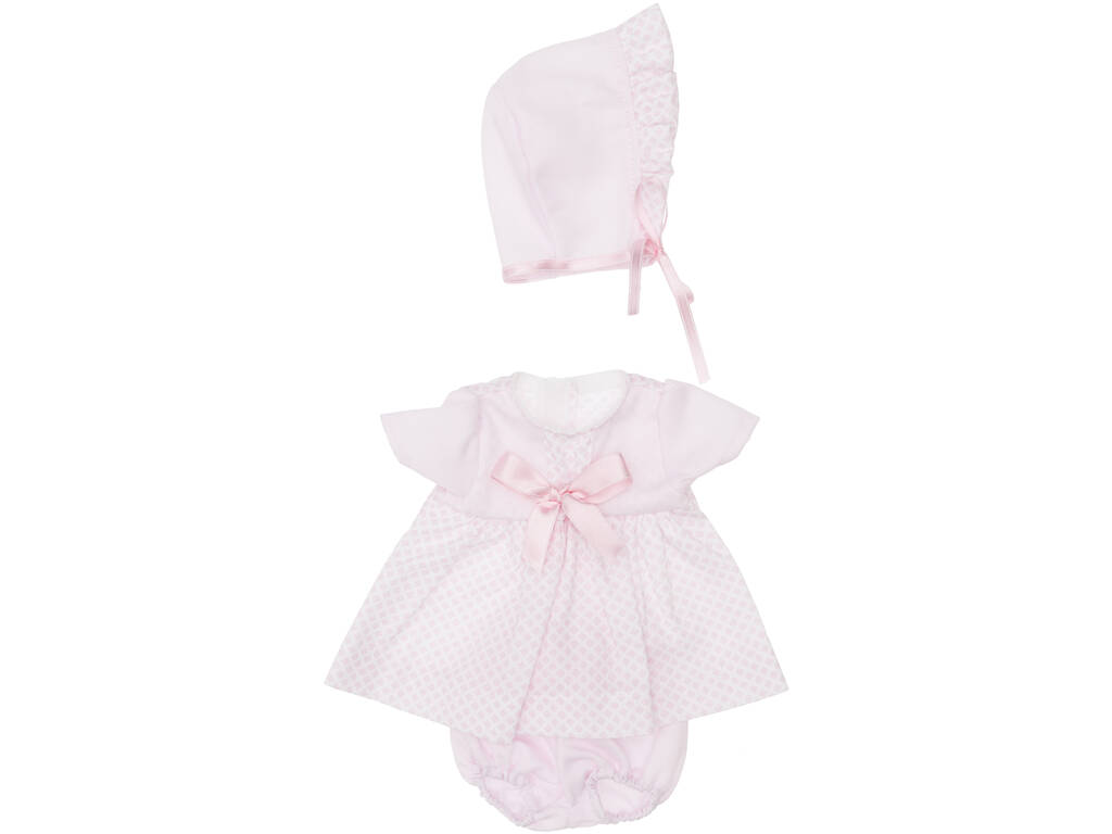 Vestido Muñeca 36 cm. Rosa Rombos Minis Asivil 3403530
