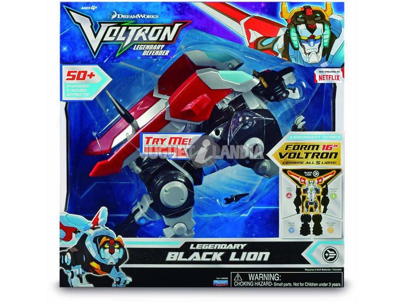 Voltron Legendary Black Lion Luci e suoni Giochi Preziosi VLA00202