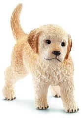 imagen Cachorro Golden Retriever Schleich 16396