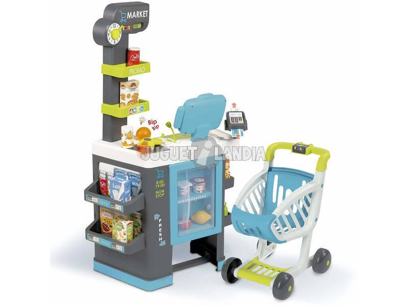 City Market Supermercato con Carrello Smoby 350218