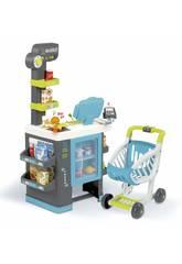 City Market Supermercado con Carrito Smoby 350218