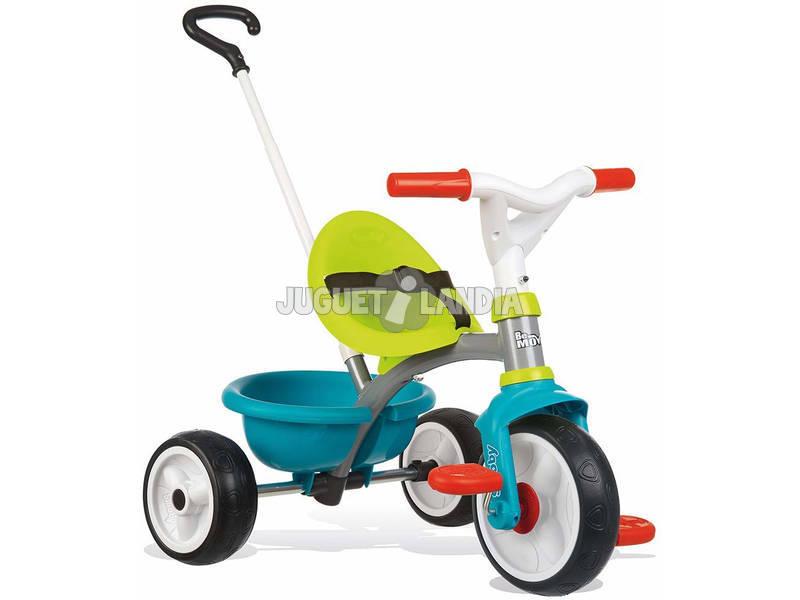 Triciclo Be Move Azul Roda Silenciosa Smoby 740326