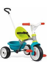 imagen Triciclo Be Move Azul Rueda Silenciosa Smoby 740326
