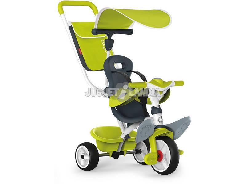 Triciclo 3 em 1 Verde Baby Balade 2 Smoby 741100