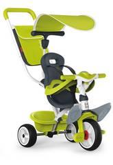 Tricycle 3 en 1 Vert Baby Balade 2 Smoby 741100