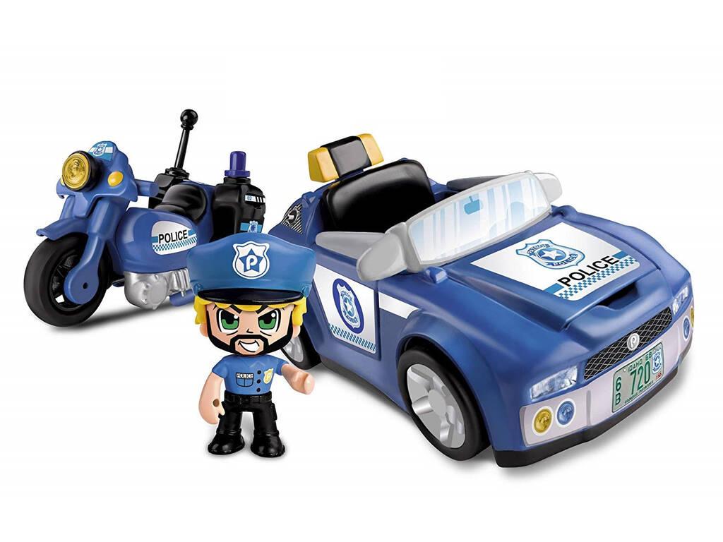 Pinypon Action Policía Vehículos de Acción Famosa 700014495