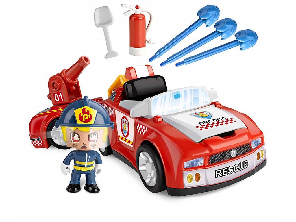Pinypon Action Bombero Vehículos de Acción Famosa 700014610