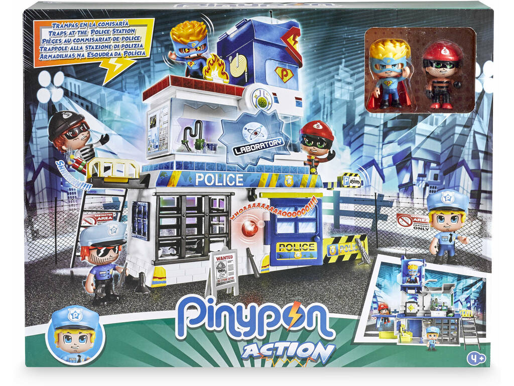 Pinypon Action Trappola in Commissariato Famosa 700014493