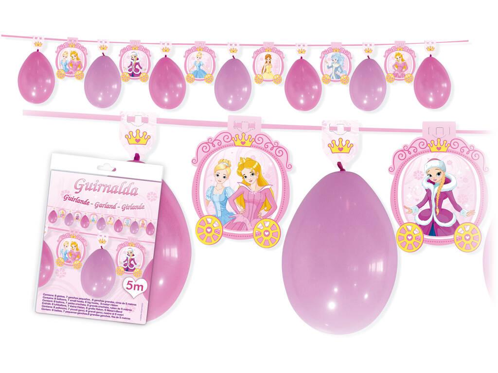 Ghirlanda Principesse Disney Globolandia 5870