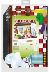 Cornice Photocall Cuoco con Accessori Globolandia 5334
