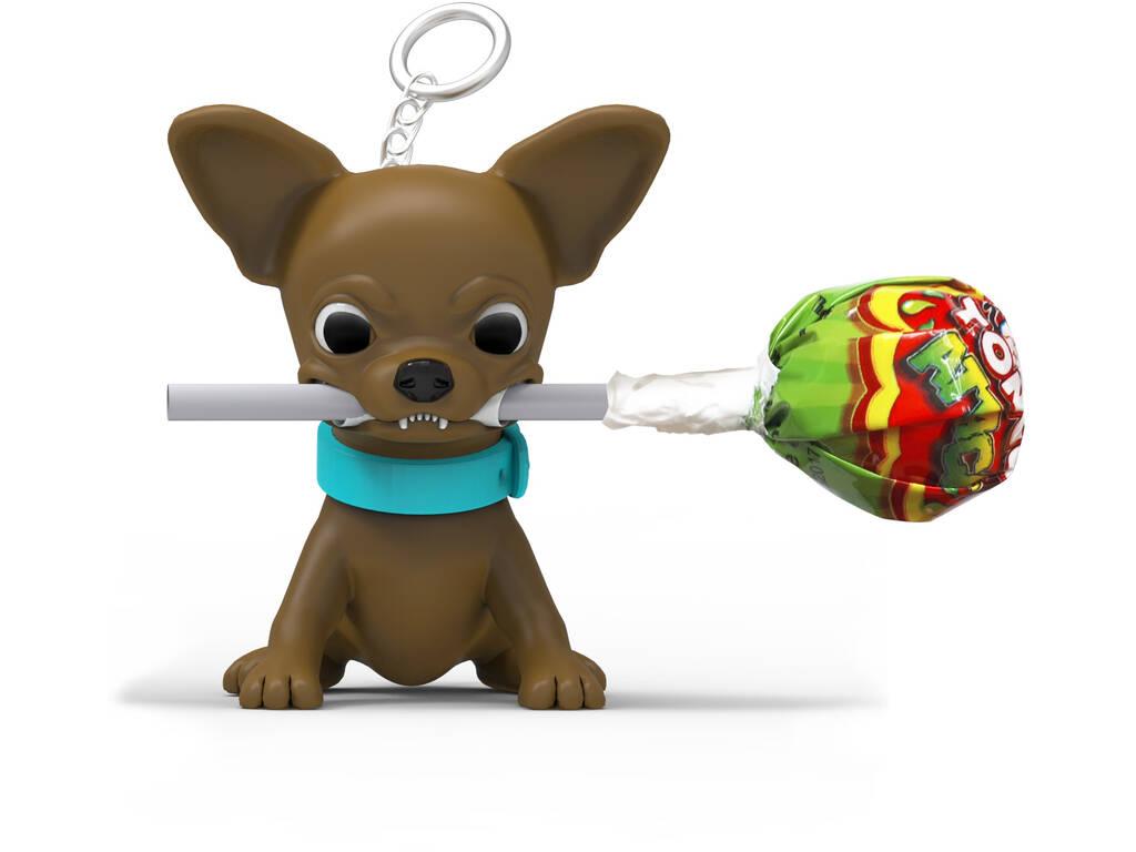 Porte-clé Petit Chien avec Candy Top Bâton Miguelañez 136290