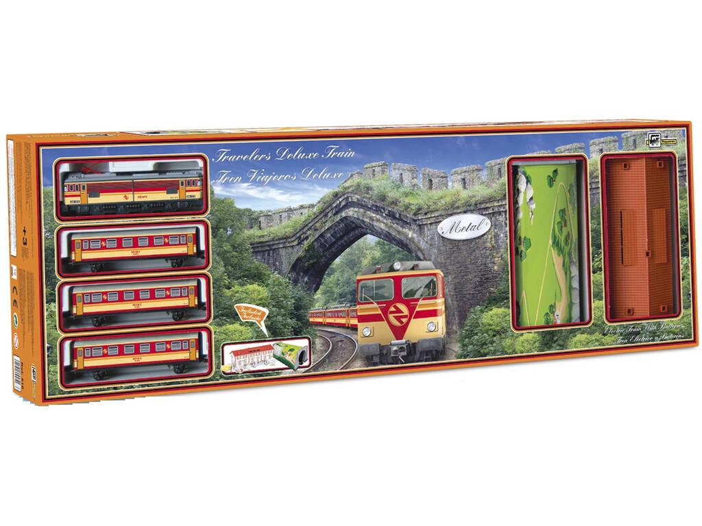 Treno Elettrico Passeggeri Deluxe Pequetren 516