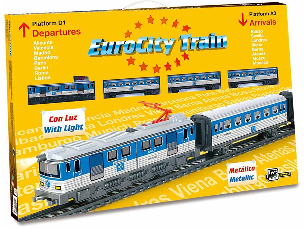 Comboio Elétrico Eurocity Pequetren 690