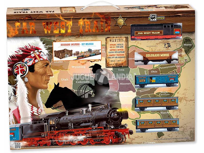 Tren Eléctrico Far West Pequetren 695