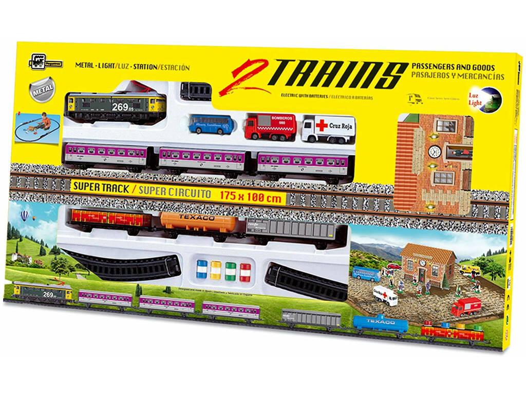 Comboio Elétrico Viajantes e Mercadorias Pequetren 900