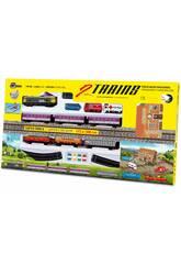 Tren Eléctrico Viajeros y Mercancías Pequetren 900