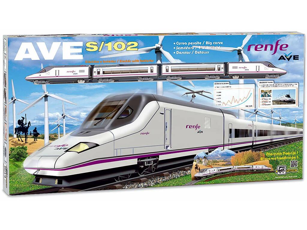 Tren Eléctrico Ave S-102 Pequetren 710