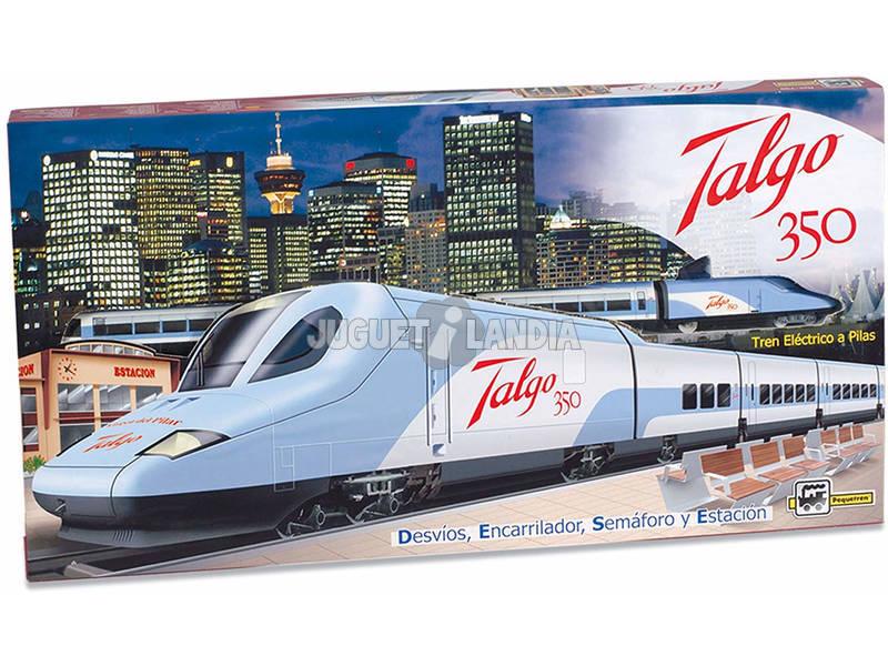 Comboio Elétrico Talgo 350 Pequetren 730