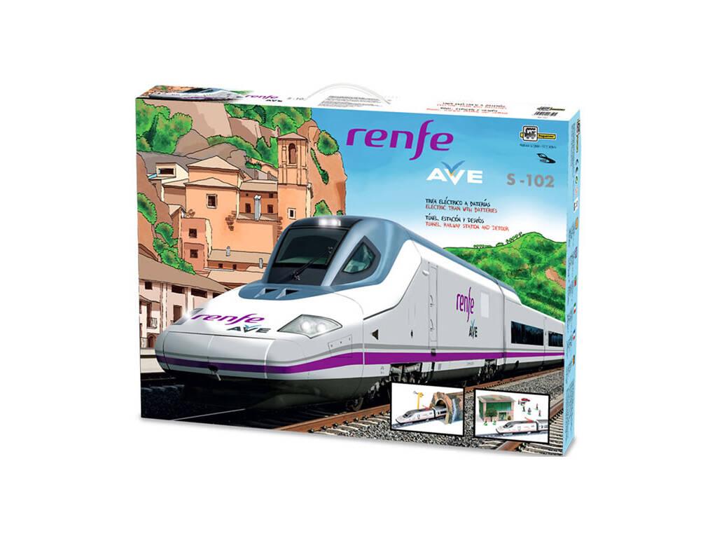 Tren Eléctrico Renfe Ave S-102 Pequetren 750