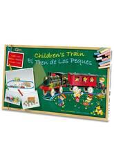 imagen Tren Eléctrico Infantil con Luz, Estación y Túnel Pequetren 2001