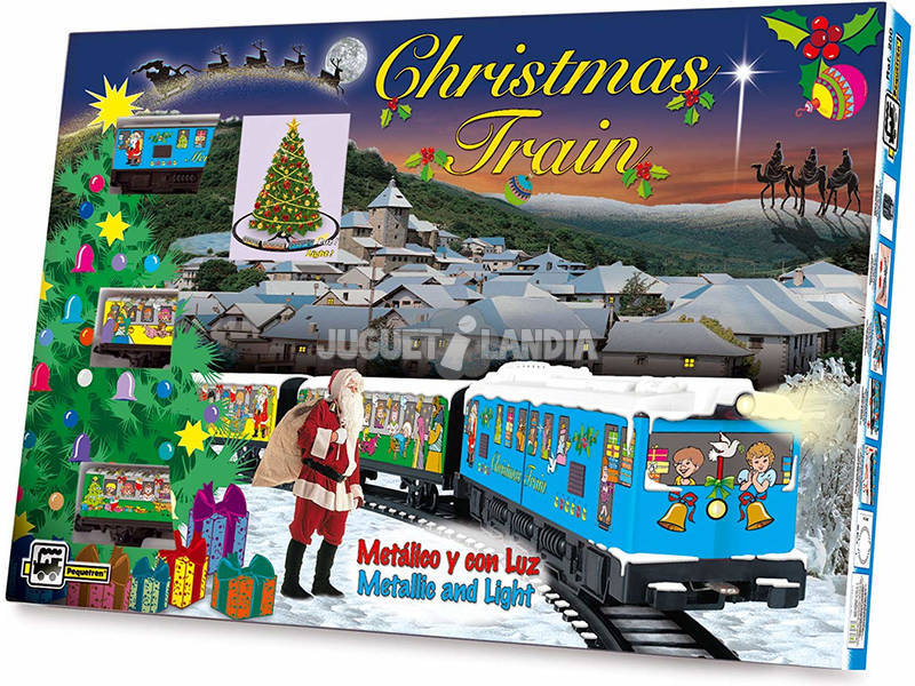 Tren Eléctrico de Navidad Pequetren 200