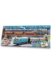 Weihnachts-Elektrozug mit Brücke und Tunnel Pequetren 500