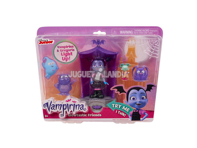 Vampirina Glowtastic Friends Playset Bandai 78020