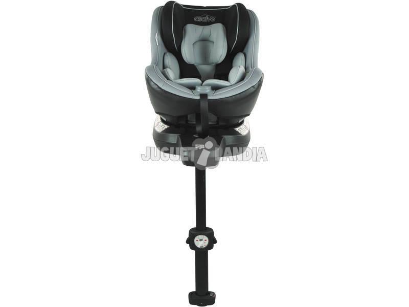 Silla De Auto Grupo 0-1 360 Fix Carbón Asalvo 15167