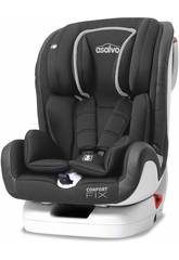 Kindersitz Gruppe 0-1-2-3 Confort Fix Grau Asalvo 15082