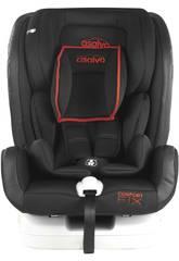 imagen Silla De Auto Grupo 0-1-2-3 Confort Fix Rojo Asalvo 15075