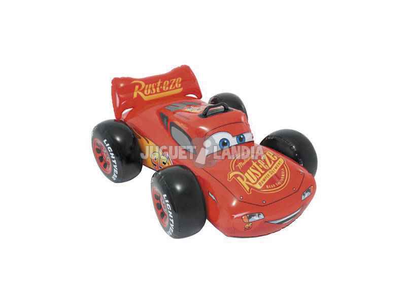 Cars Colchoneta Hinchable Ride On 109x84 cm. Intex 57516