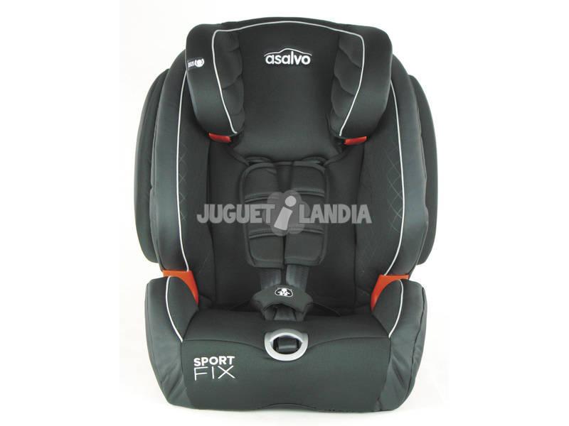 Cadeira De Automóvel Grupo 0-1-2-3 Sport Fix Gris Asalvo15068
