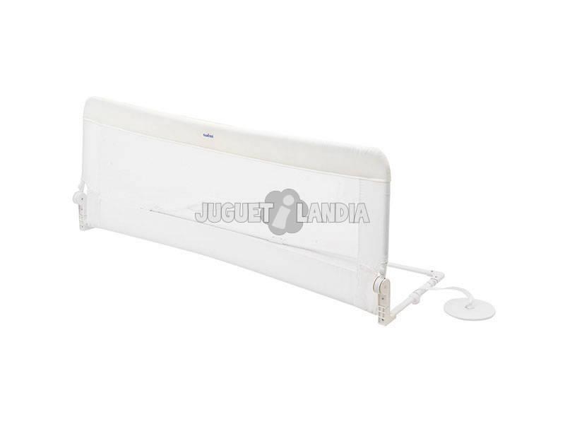 Barrera Cama Nido Plegable 150 cm Blanca Olmitos 7648