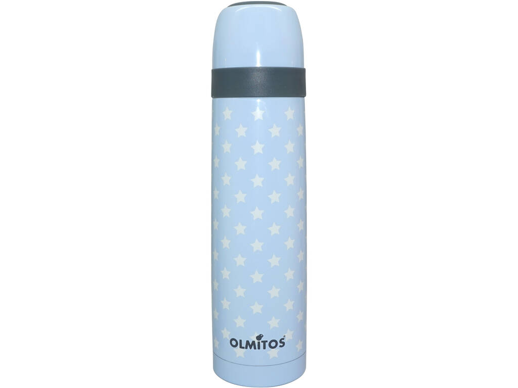 Termo 500 ml Aço Stars Azul Olmitos 112