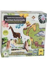 Tappeto Zoo Puzzle Eva 12 pezzi