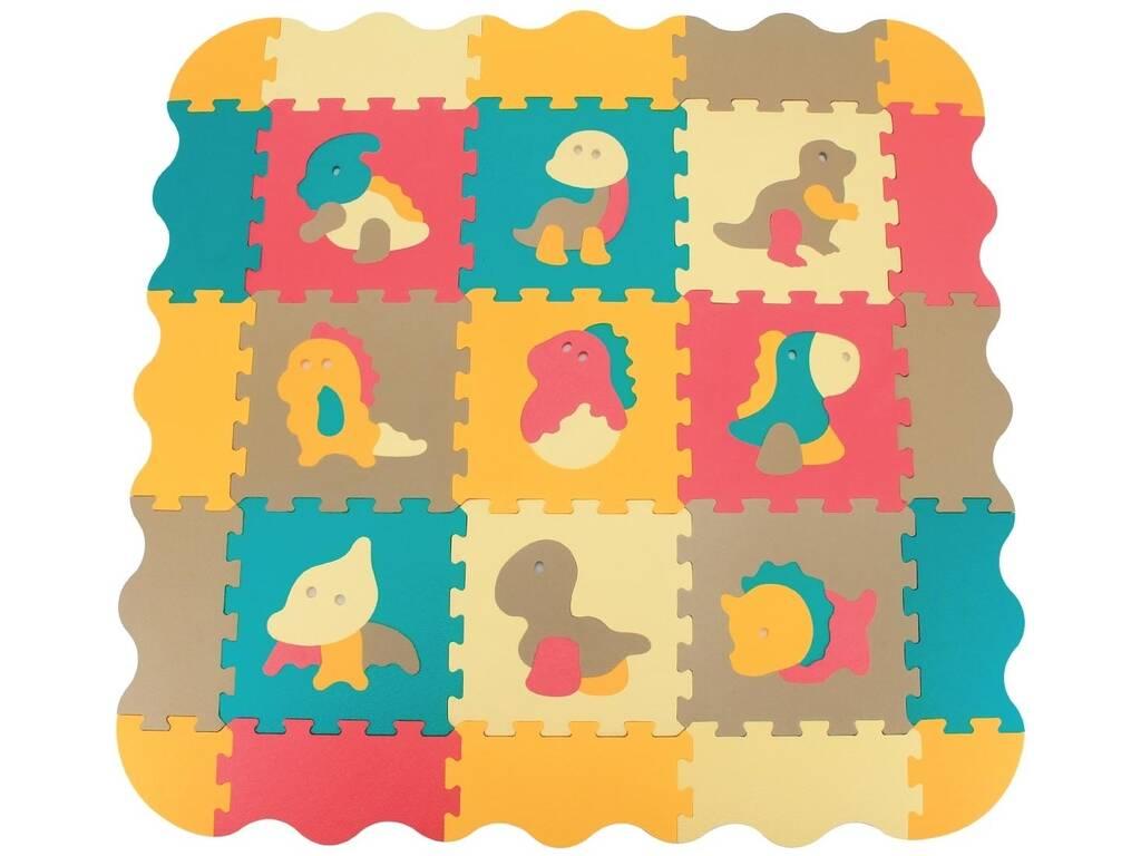 Tappetino Puzzle Eva 9 pezzi Dinosauri