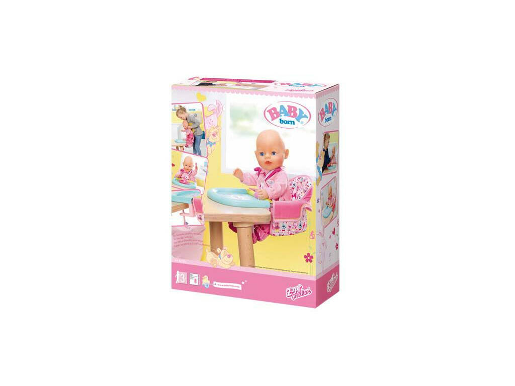 Baby Born Seggiolone Portatile Bandai 825235