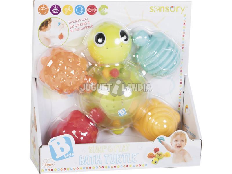 Tartaruga de Atividades para Banho com Texturas Kids 5359