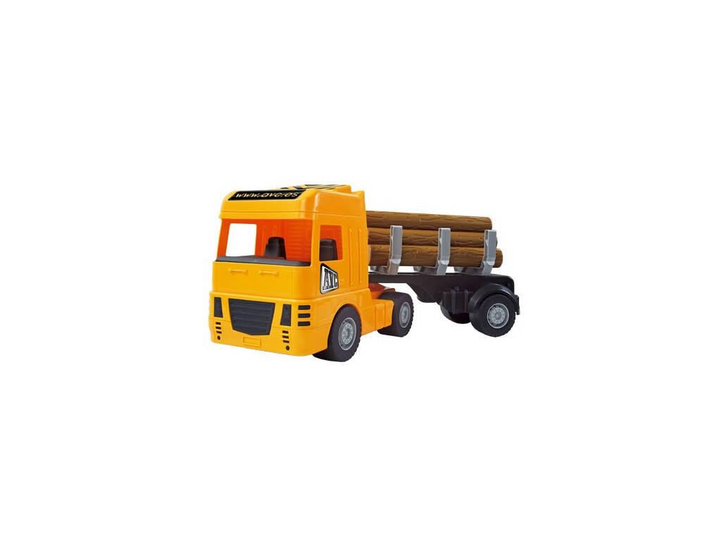 Caminhão Trailer Carrega Troncos AVC 5360