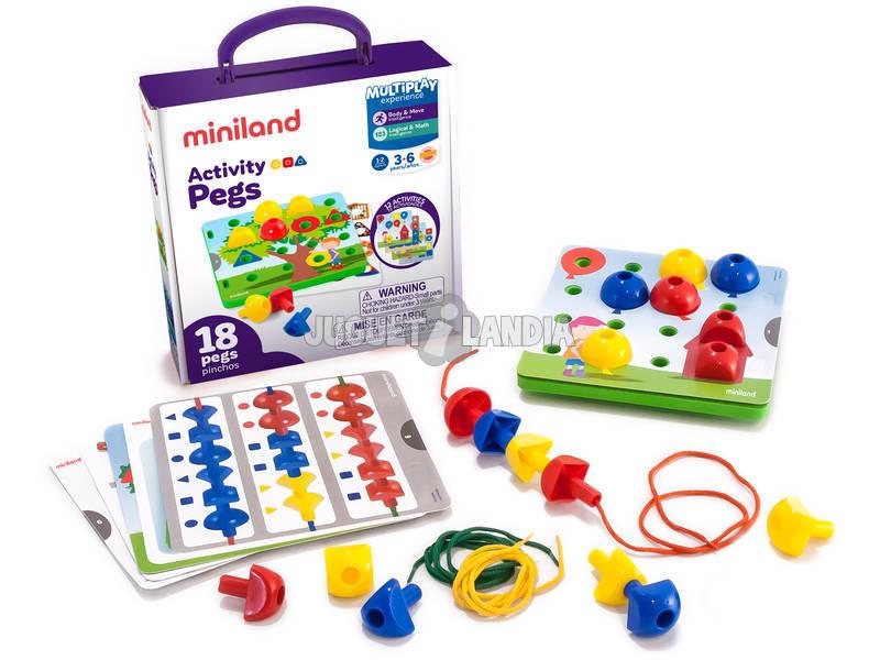 Activity Pegs Miniland 31787