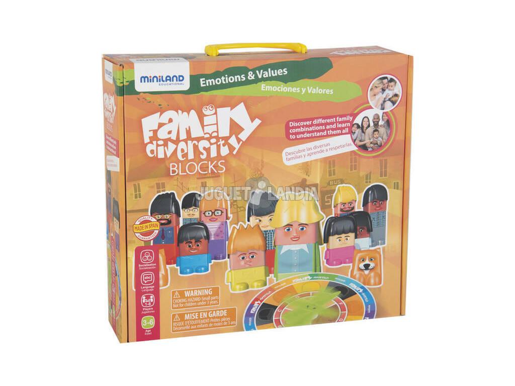 Jogo Didático Family Diversity Miniland 32360