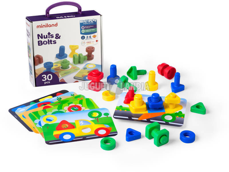 Gioco Didattico Nuts And Bolts 45303