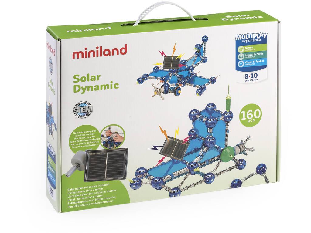 Jogo Solar Dynamic 160 Peças Miniland 94104
