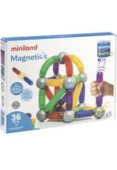 Juego Magnetics 36 Piezas Miniland 94105