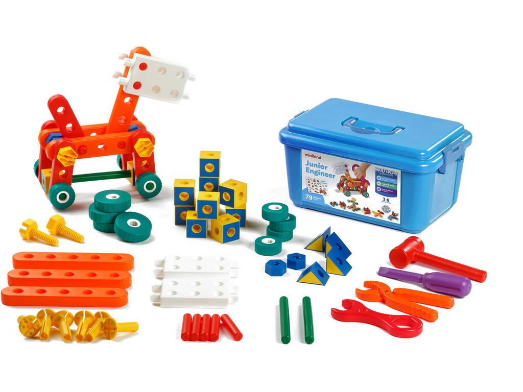 Juego Junior Engineer79 Piezas Miniland 95002