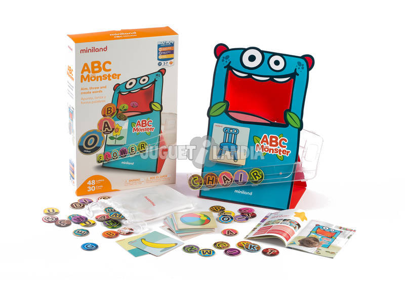 Jogo ABC Monster Mini Land 31977