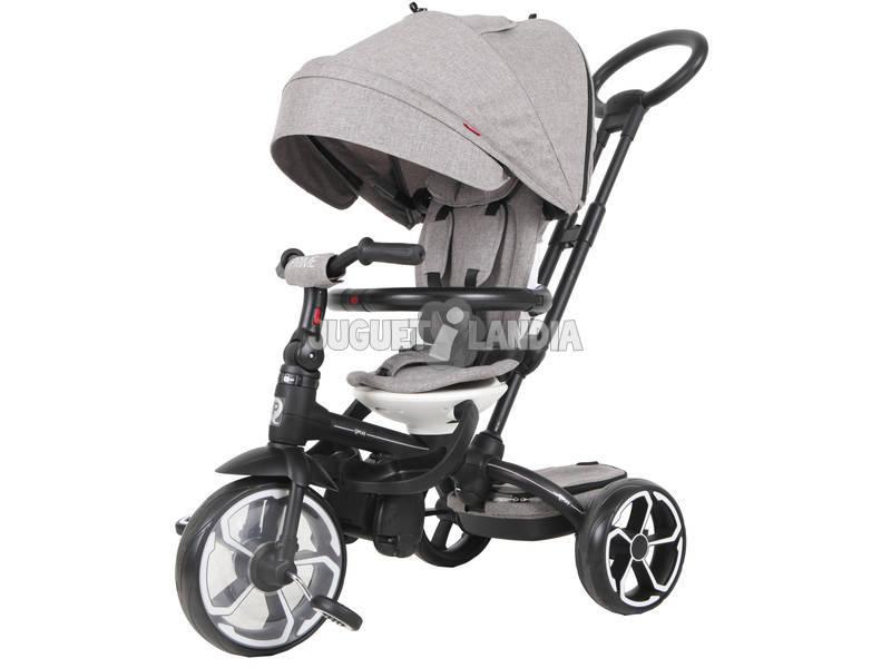 Triciclo Prime 5 in 1 Grigio QPlay T551