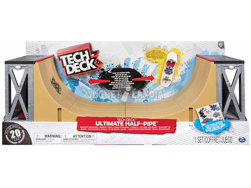 Tech Deck Half Pipe Bizak 6192 9885