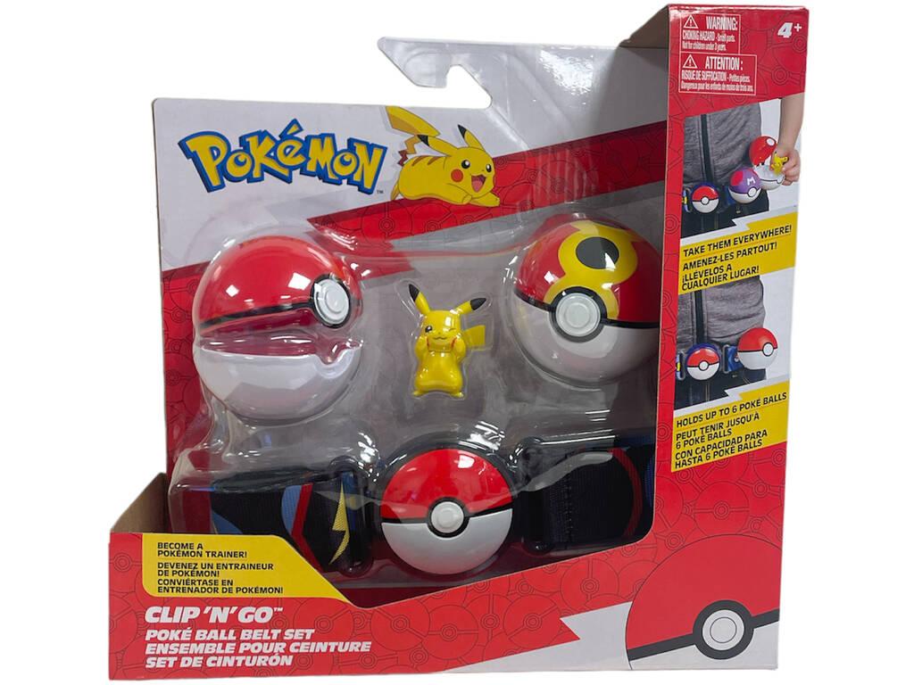 Pokemon Cinturón Ataque Bizak 6322 7236